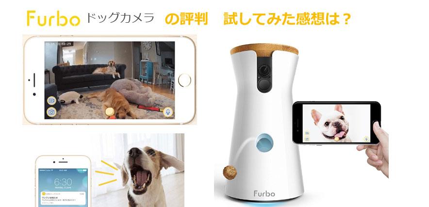 Furboの本体イメージとスマホアプリの動画の様子